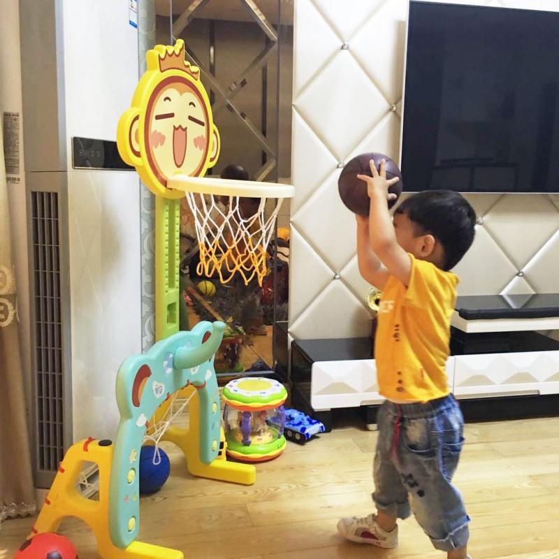 儿童篮球架室内可升降家用投篮框幼儿宝宝玩具球类男孩