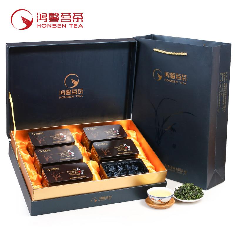 2020春茶安溪特级铁观音茶叶乌龙茶兰花香礼盒装高山清香型味新茶