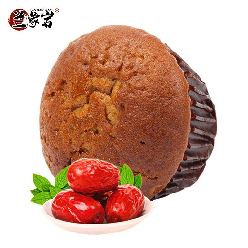 兰象岩枣沙蛋糕营养早餐红枣蛋糕面包办公室休闲零食