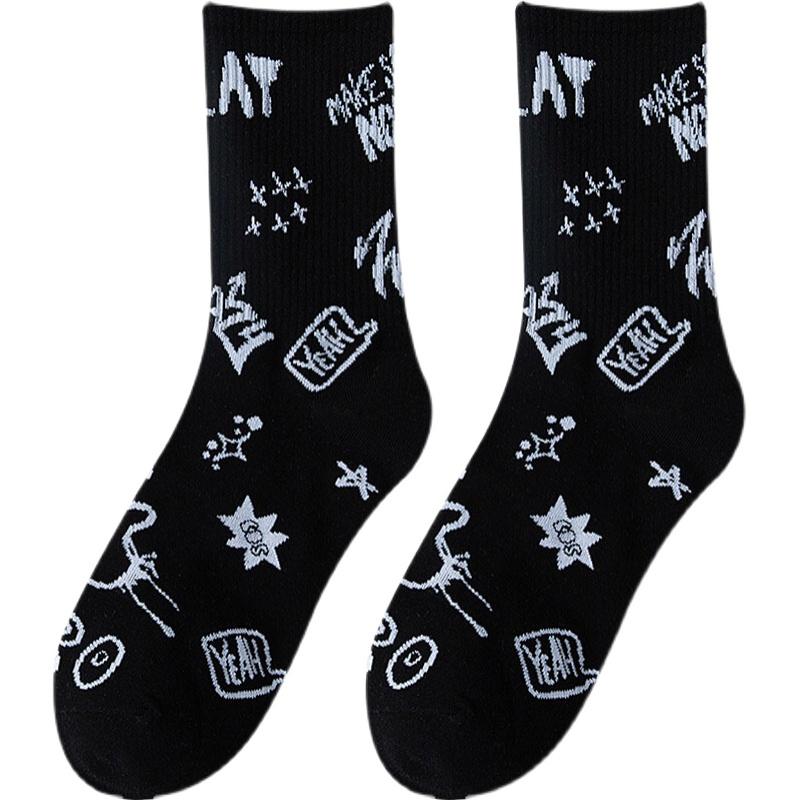 风火雨林 中筒袜 4双装