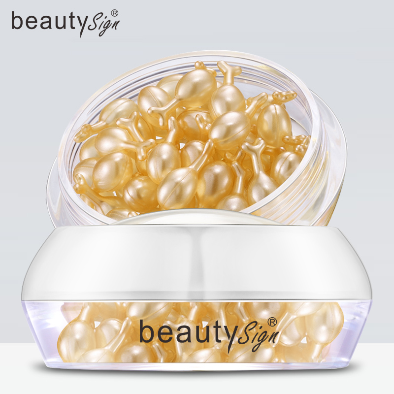 BEAUTY SIGN胎盘素修护精华液淡化细纹提亮肤色淡化暗沉紧致肌肤
