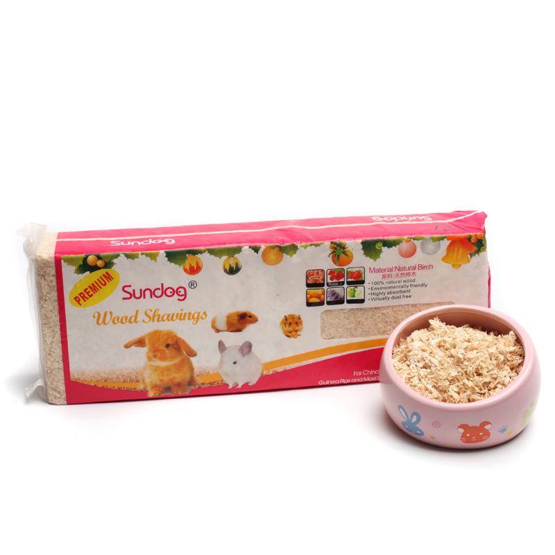 仓鼠木屑除臭杀菌用品小鼠沙金丝熊锯末垫料用套装浴沙小专用木削