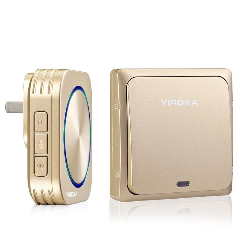 盈润佳门铃无线家用超远距离电子智能遥控呼叫器一拖二不用电门铃