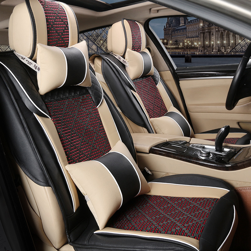 SKODA OCTAVIA Mk3 2014-15-16-17-18-2019 ARTIFICIAL LEATHER TAILORED SEAT COVERS