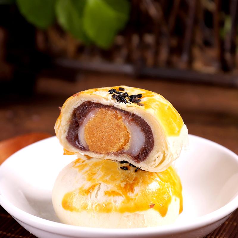 岸恋宝岛海鸭蛋黄酥红豆沙咸蛋黄雪媚娘早餐面包整箱糕点夜宵充饥