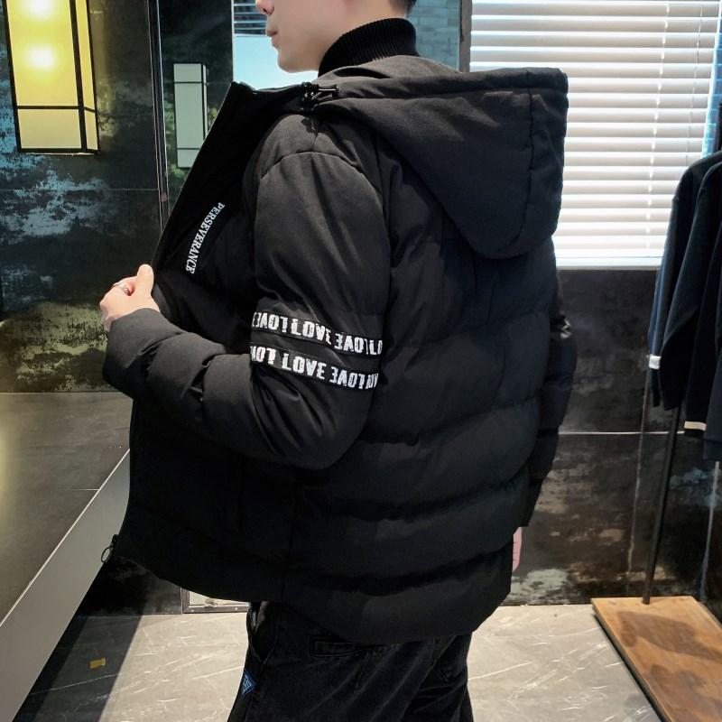 祖玛珑棉衣男2019冬季新款帅气棉服韩版修身潮流男装轻薄棉袄外套