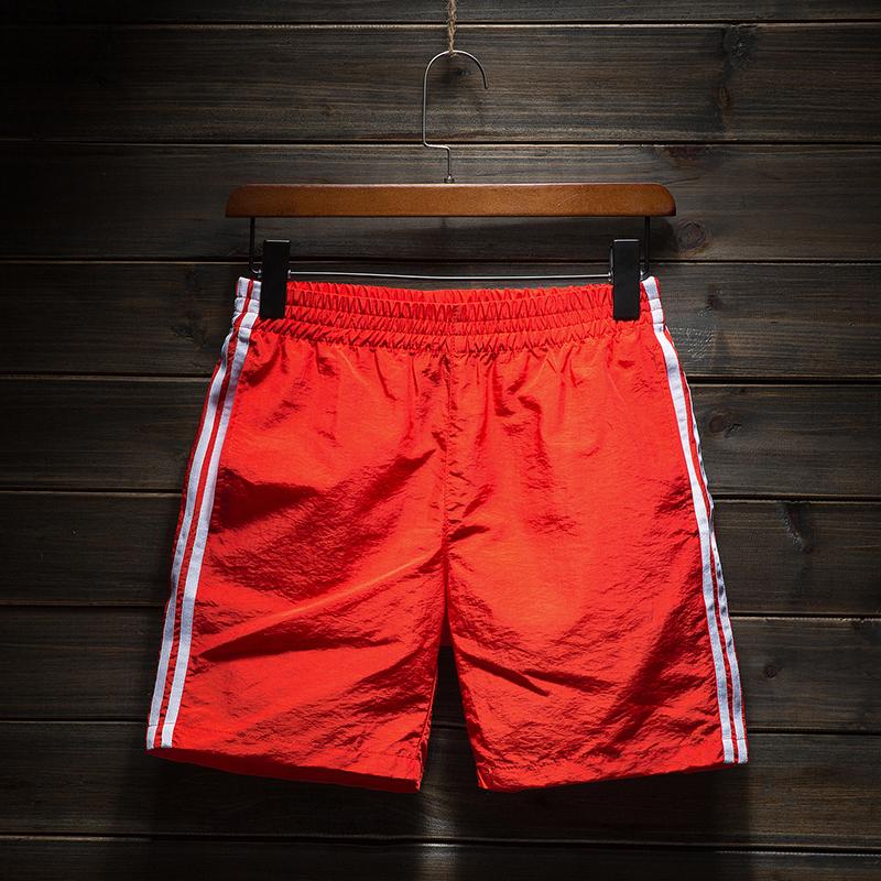 夏季三分裤男速干运动短裤跑步健身运动裤沙滩裤海边度假3分裤短