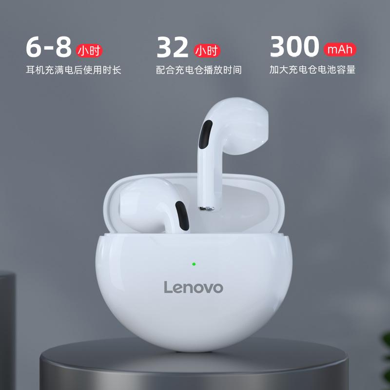 联想蓝牙耳机真无线2021年新款双耳运动跑步小型隐形无延迟超长待机续航男女生款适用于华为安卓苹果oppo通用