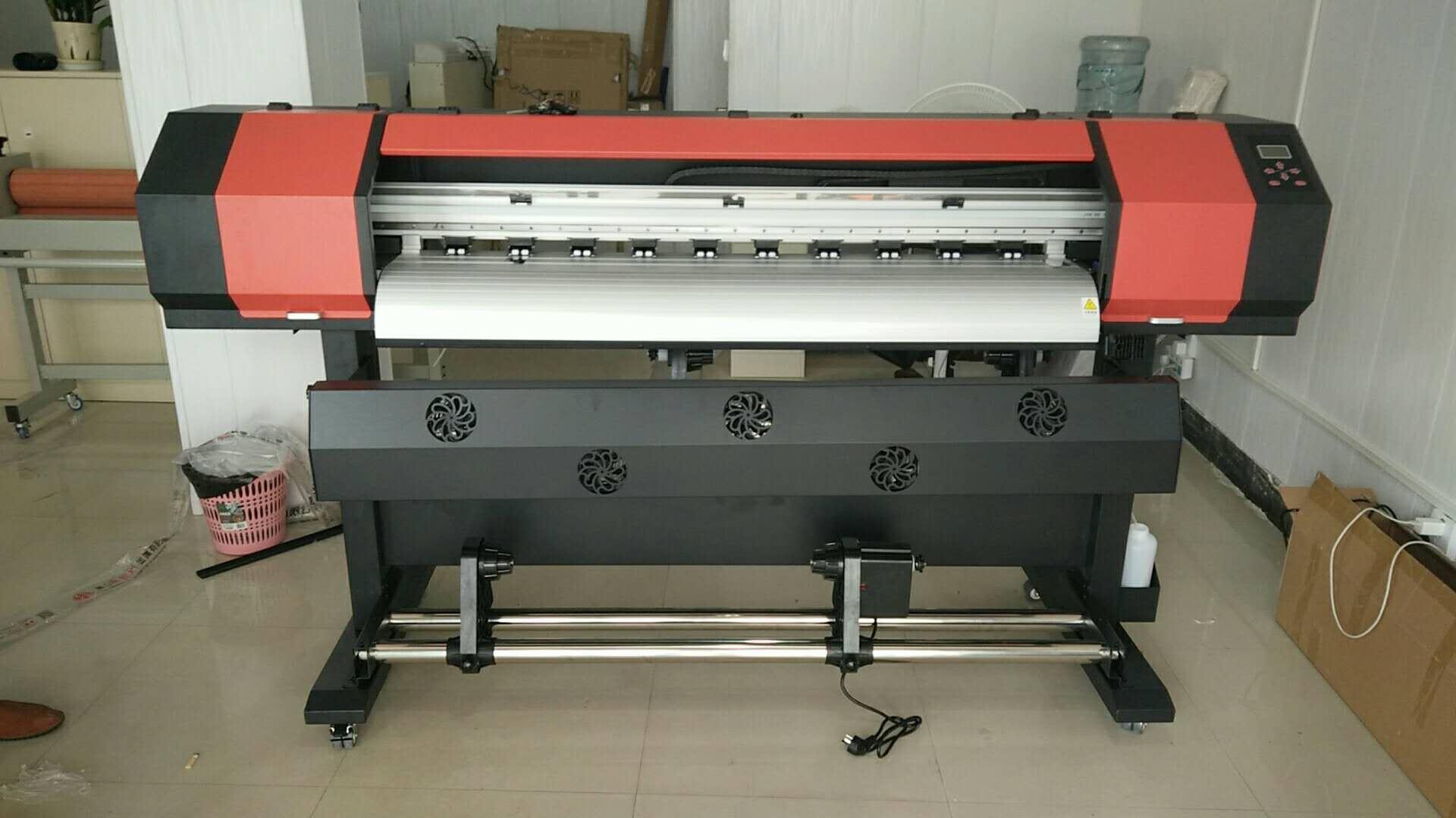 户外压电写真机 xp600油性压电机 1.3米新五代打印头弱溶剂喷绘机
