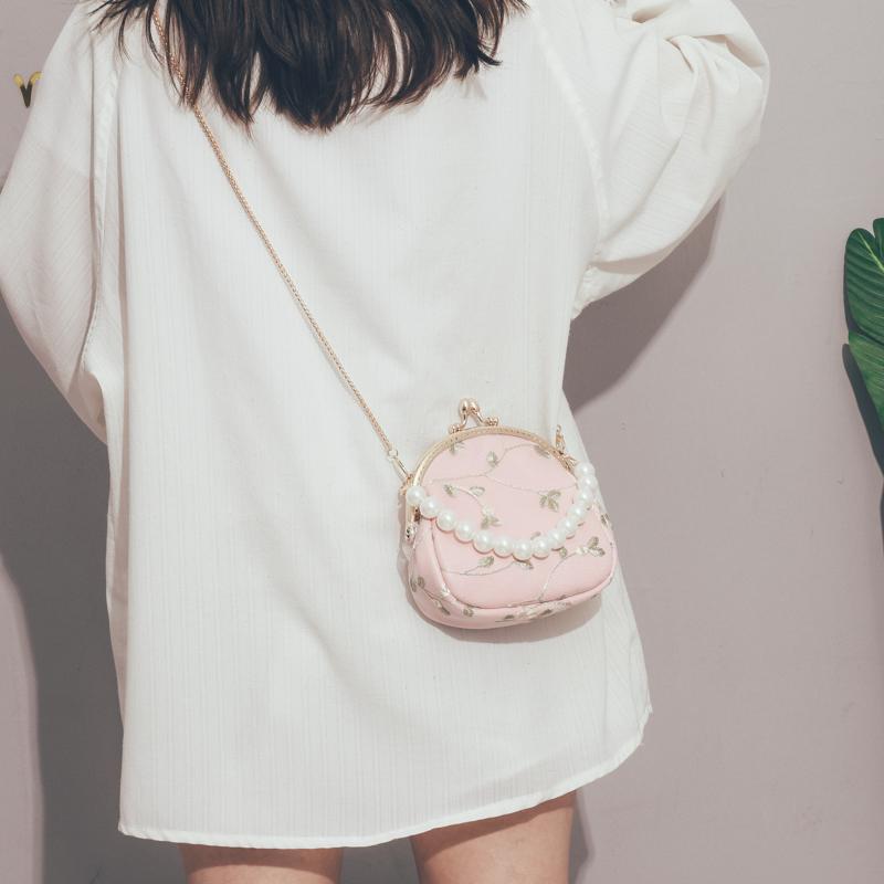 今年流行的包包2020新款韩版时尚斜挎包女百搭ins洋气单肩链条包