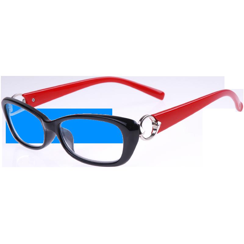 老花镜女防蓝光高清晰优雅时尚舒适OCSEE品牌老光镜女式老花眼镜