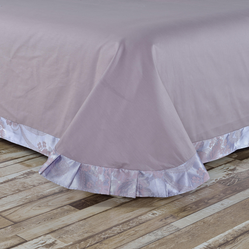 欧式贡缎提花全棉四件套纯棉床上用品四件套1.5/1.8/2.0床