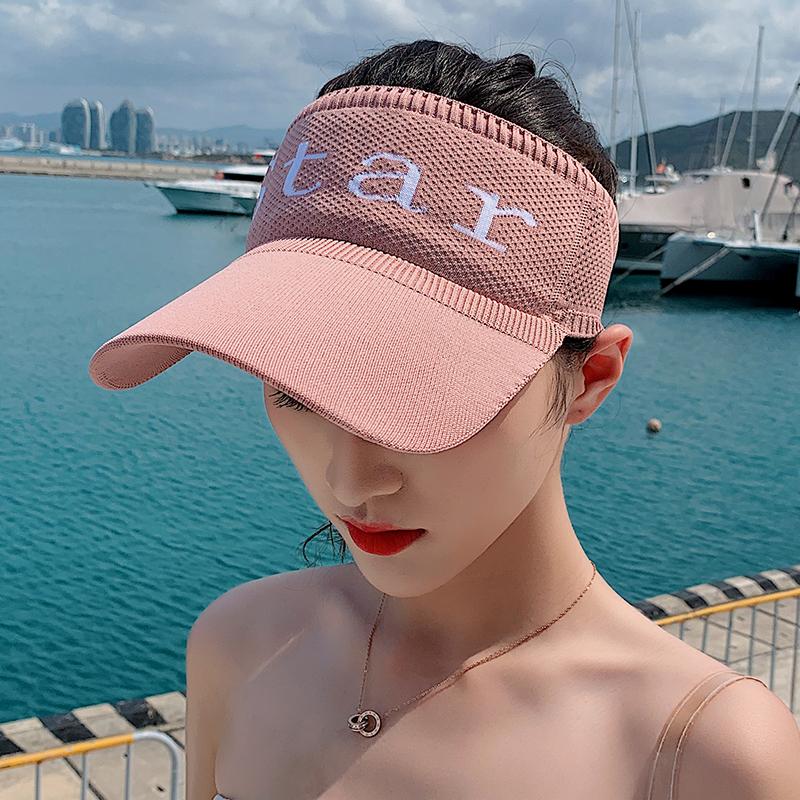 帽子女韩版潮人百搭夏天太阳帽休闲遮阳防晒网红空顶帽棒球鸭舌帽