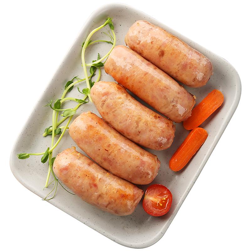 绝世原味黑椒地道肠火山石烤肠纯肉台湾热狗2斤装包邮烤肉肠台式