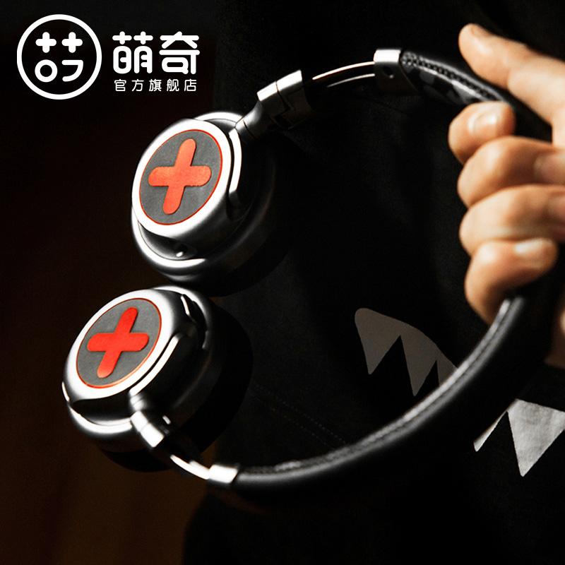 萌奇潮牌无线耳机魔鬼猫无线蓝牙耳机头戴式苹果手机电脑游戏耳麦