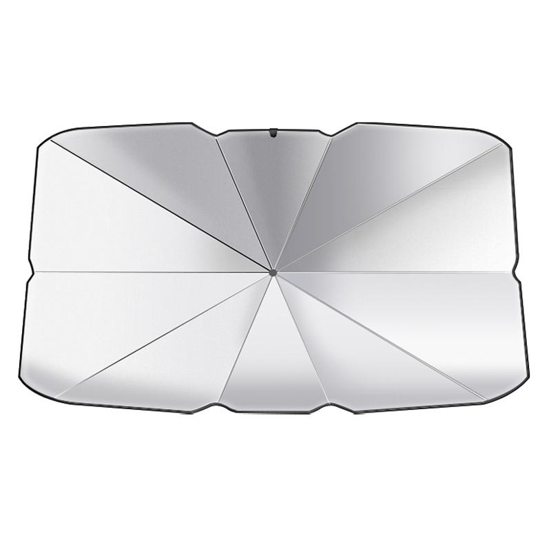 汽车遮阳伞停车用防晒隔热帘车内隐私遮光板前挡风玻璃罩伞式神器