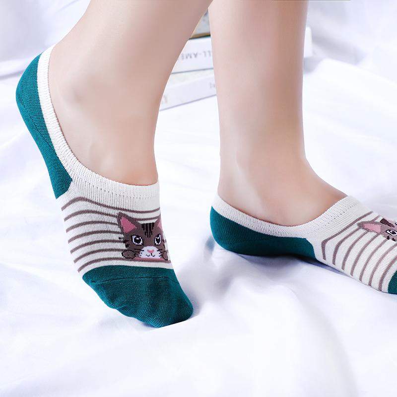 男女生短款ins潮纯棉透气袜袜子