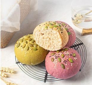 七年五季 全麦面包无蔗糖精零食品低0饱腹整箱早餐脂肪代餐欧包