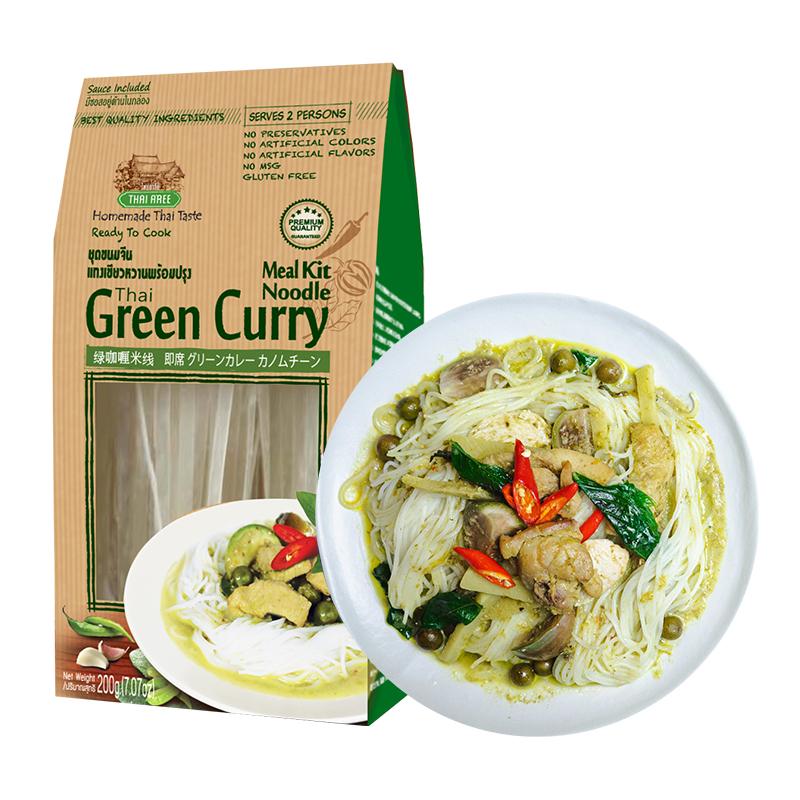 CP正大 Thai Aree 泰国绿咖喱米线含酱料 200g*5件