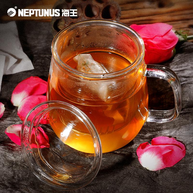 海王玫瑰荷叶茶冬瓜荷叶茶叶玫瑰花茶袋泡花草茶包决明子苦荞组合
