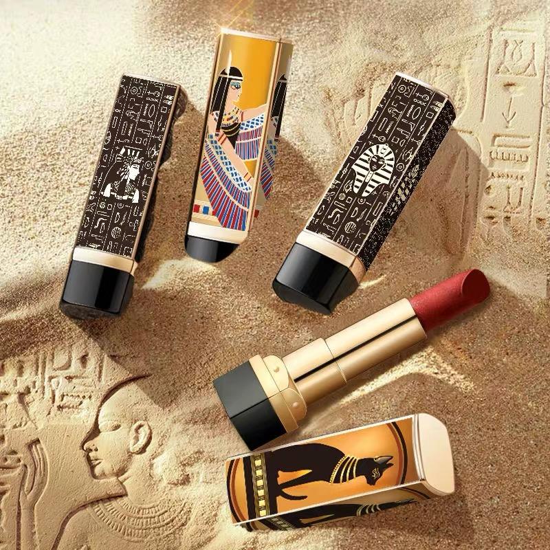 埃及艳后口红套装女学生款口红小众品牌李佳琦推荐礼套盒平价