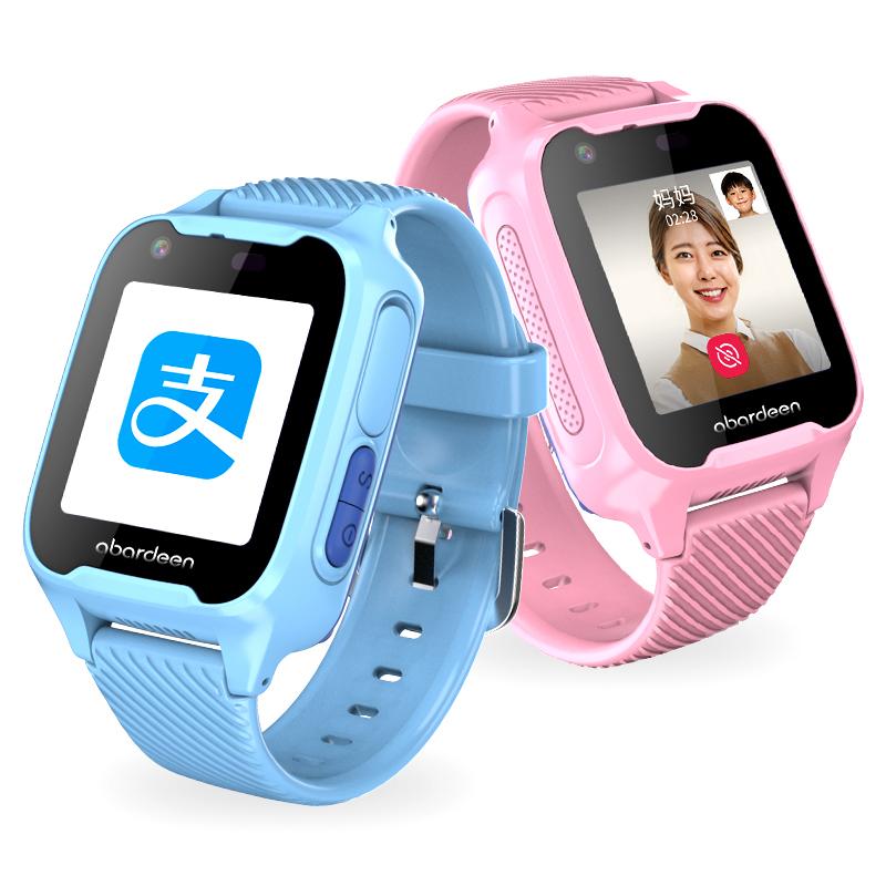 【天猫定制款】阿巴町儿童智能电话手表4g视频通话定位多功能学生男女孩防水V1天猫精灵AI