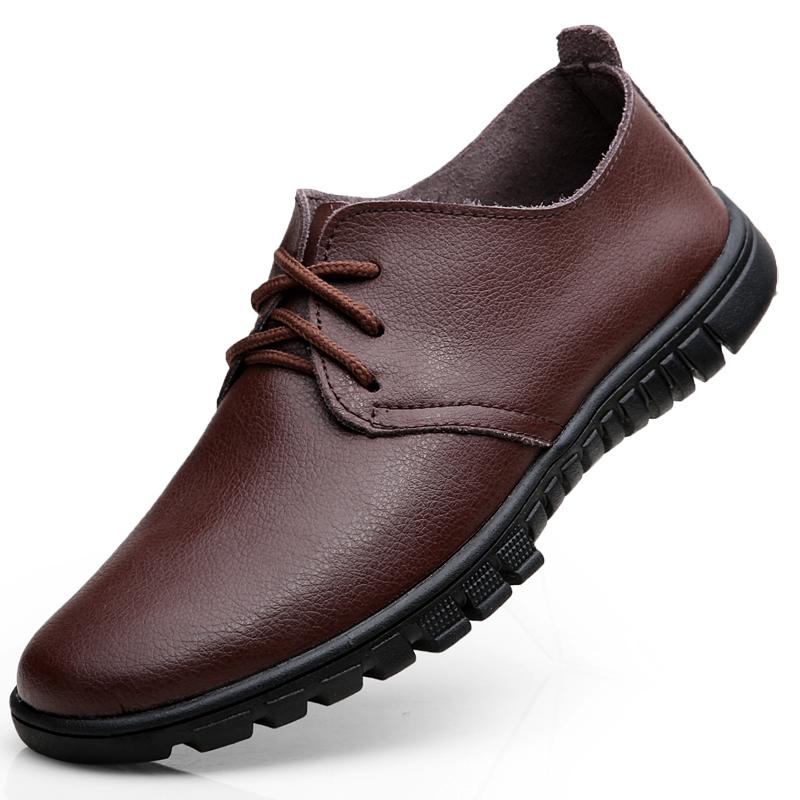 男鞋夏季男士凉鞋镂空皮鞋男鞋软皮休闲凉皮鞋透气男士洞洞鞋