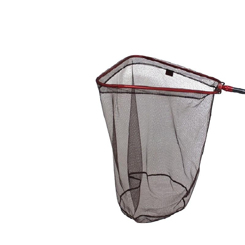 RTI 可折叠三角筏钓大鱼巨务大物青草鱼抄网头涂胶纳米加深网兜捞