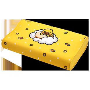 Nittaya泰国皇家进口天然乳胶小黄鸭款儿童乳胶枕颈椎枕卡通防螨A