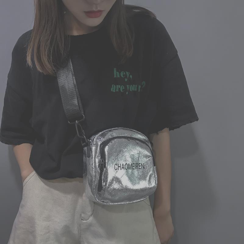 小包包女2018新款潮韩版ins斜挎百搭迷你时尚honey蹦迪网红小黑包
