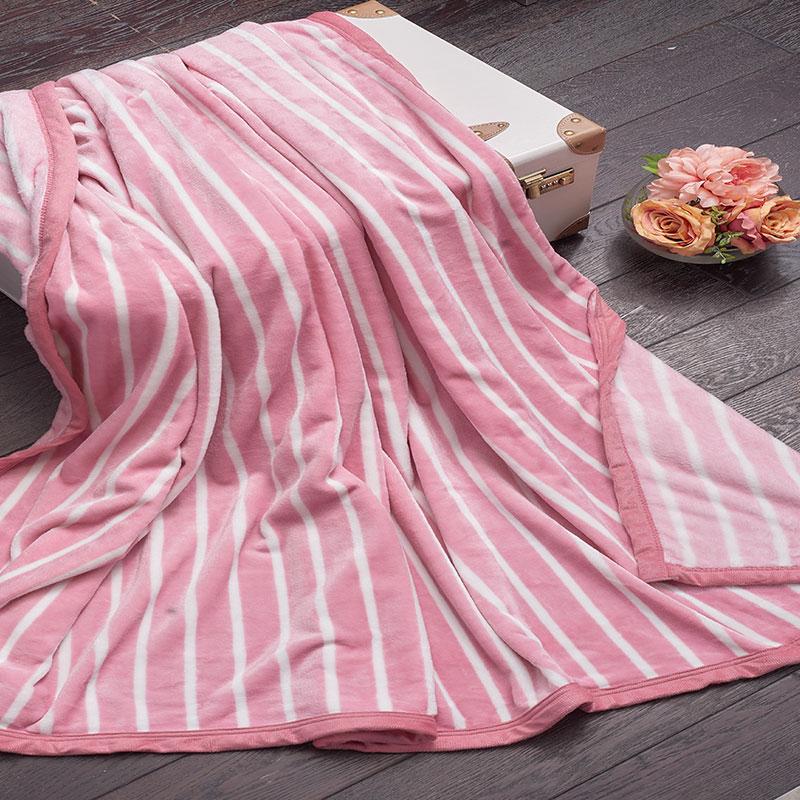 多喜爱办公室毯子云锦绒毯四季通用时尚盖毯保暖美眠康旅行毯休闲