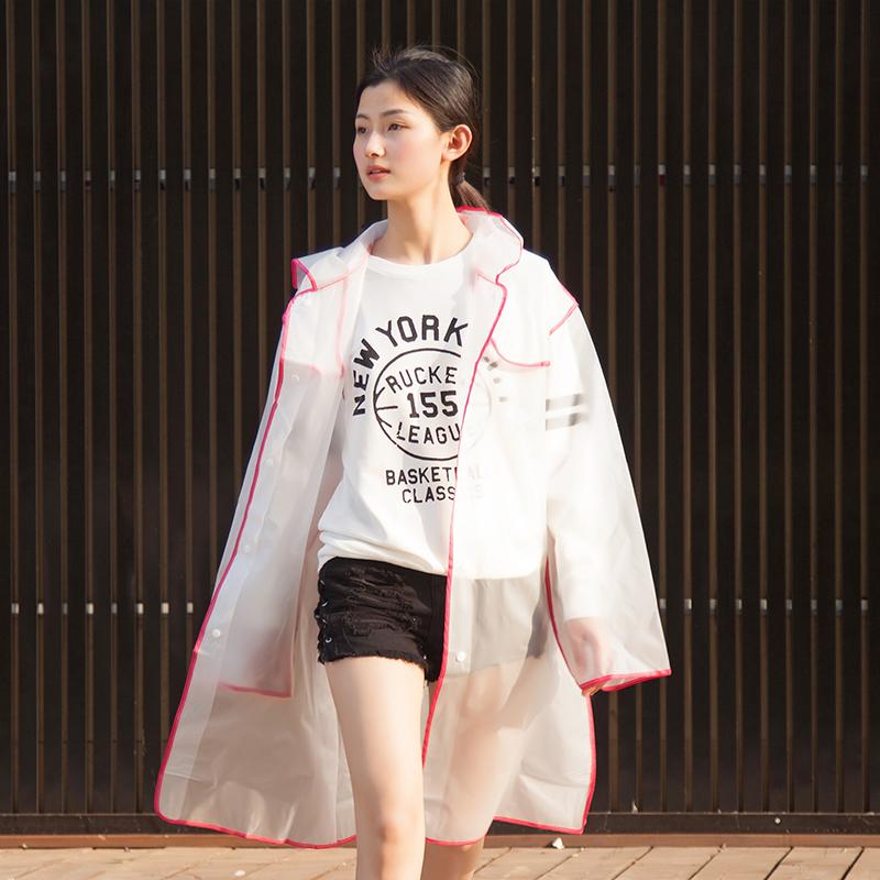 旅游透明雨衣长款防护外套女雨披成人男网红徒步时尚抖音同款学生