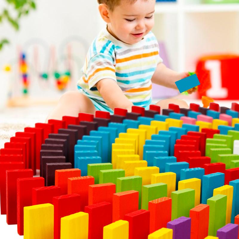 机关多米诺骨牌儿童益智比赛专用标准成人抖音同款1000片男女玩具
