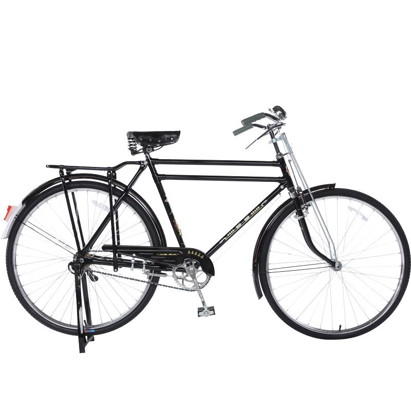 型双杠重磅载重加重复古老式自行车单车 za42 英寸 phoenix28 凤凰图片