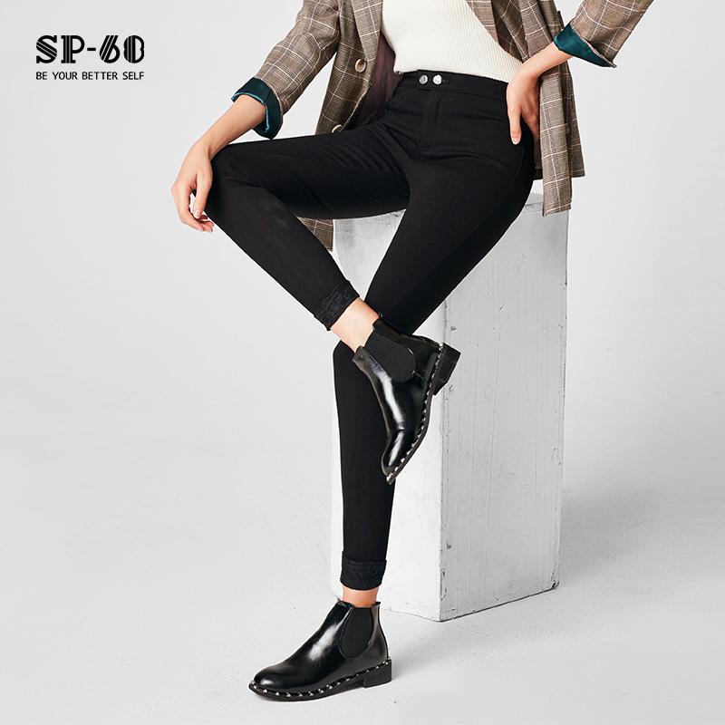 sp68小脚裤女新款显瘦黑色打底裤外穿春夏季瘦腿裤2020弹力紧身裤
