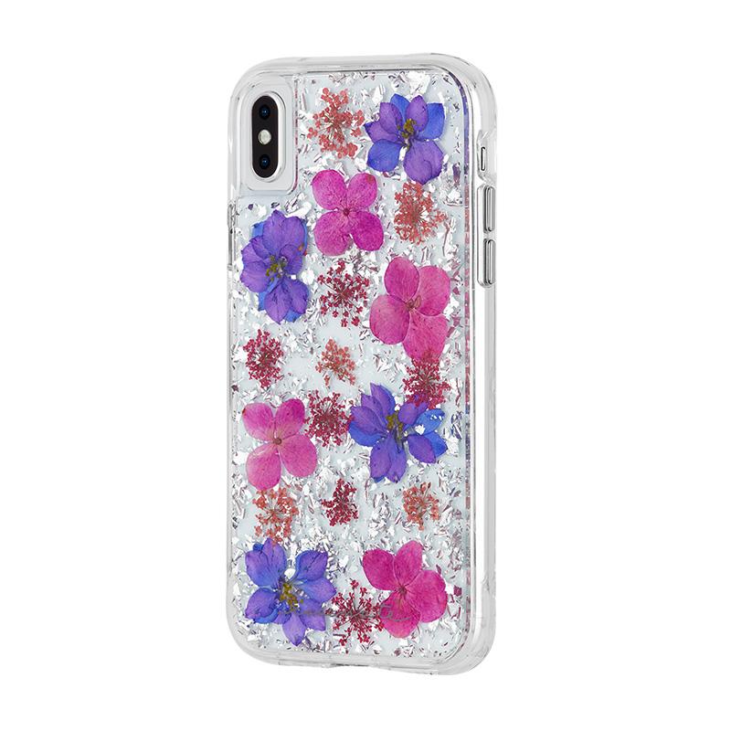 Case Mate金箔花瓣手机壳适用于苹果iPhone XS Max透明防摔保护套
