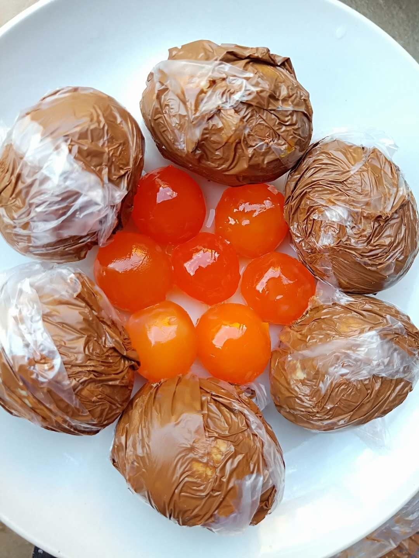 微山湖特产非高邮放养红泥腌盐生咸鸭蛋黄流油月饼蛋黄酥烘焙30枚