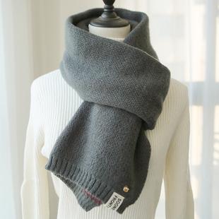 菠萝围巾女冬季百搭韩版学生针织ins可爱少女加厚保暖毛线围脖男