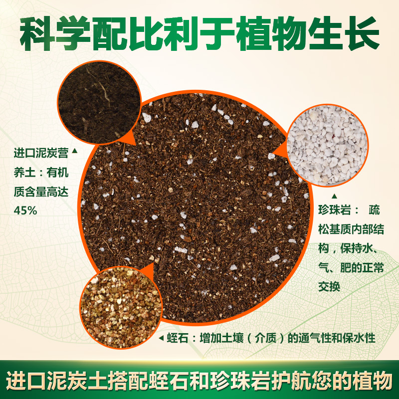 尚洋营养土大包多肉土专用养花土壤种植土绿萝兰花盆栽通用泥炭土