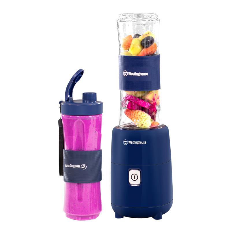 美国西屋便携式榨汁机随行杯小型家用多功能豆浆水果汁辅食料理机