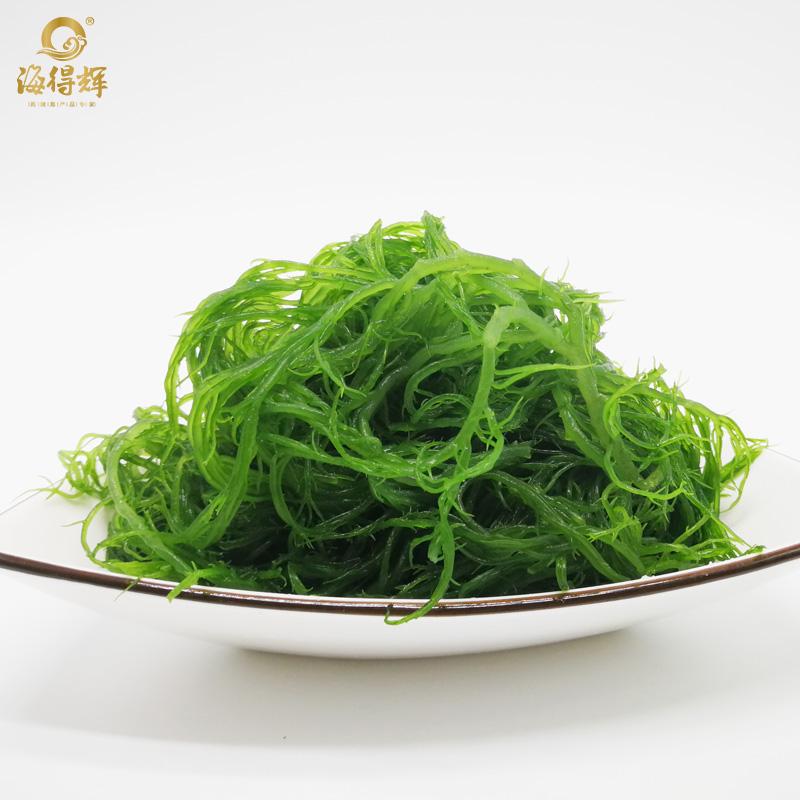 海得辉盐渍龙须菜500g新鲜海藻丝凉拌海藻菜长寿菜1斤装包邮年货