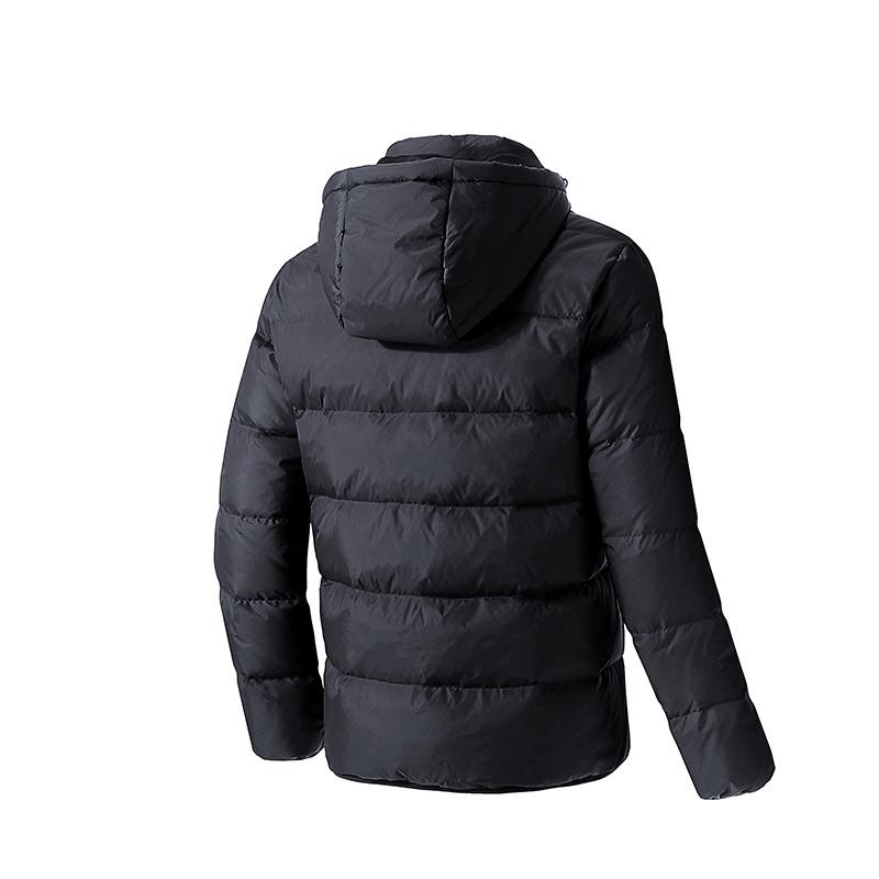 鸿星尔克男子棉服羽春季新品男子防风保暖舒适休闲运动外套男上衣