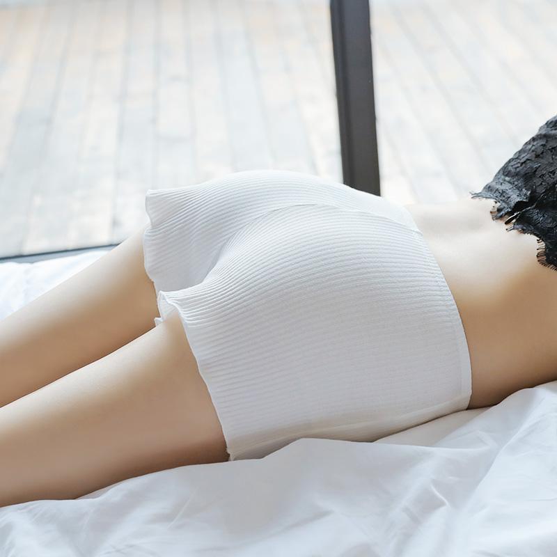 [2条装]安全裤女防走光夏纯棉可内外穿打底裤内搭保险裤薄款短裤