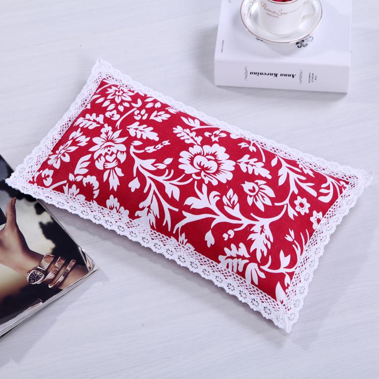 纯棉粗布宝宝枕荞麦壳婴儿枕枕芯儿童枕适合0-3岁宝宝枕
