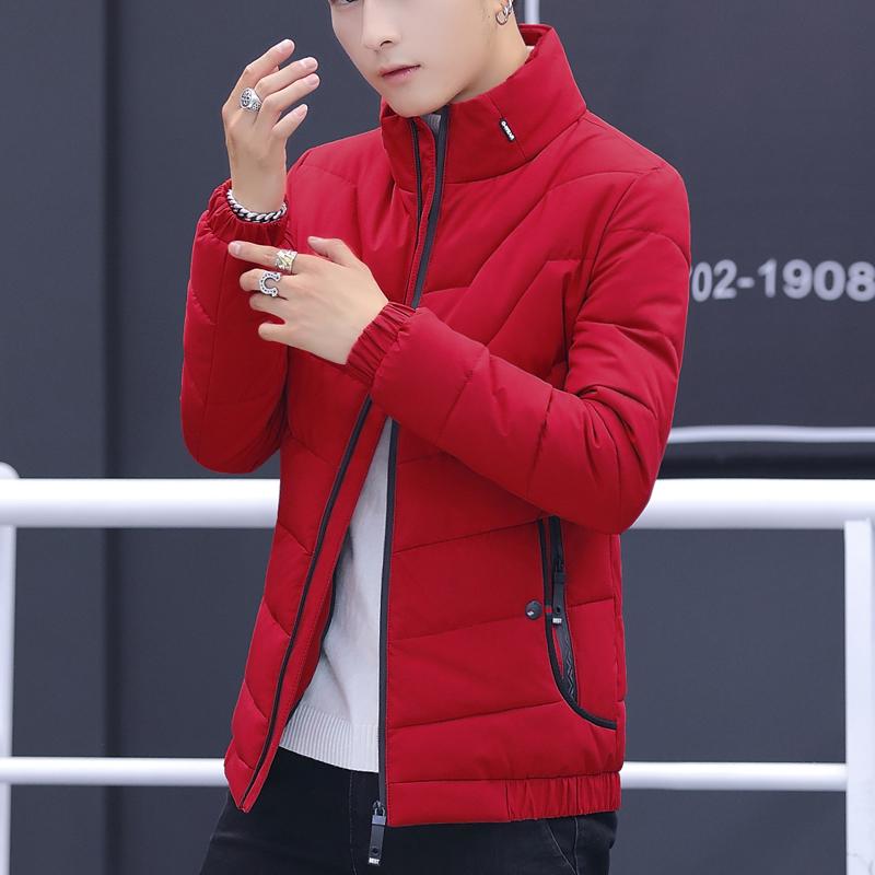新品棉衣男潮流立领保暖外套休闲冬季棉袄2020年新款男装羽绒棉服