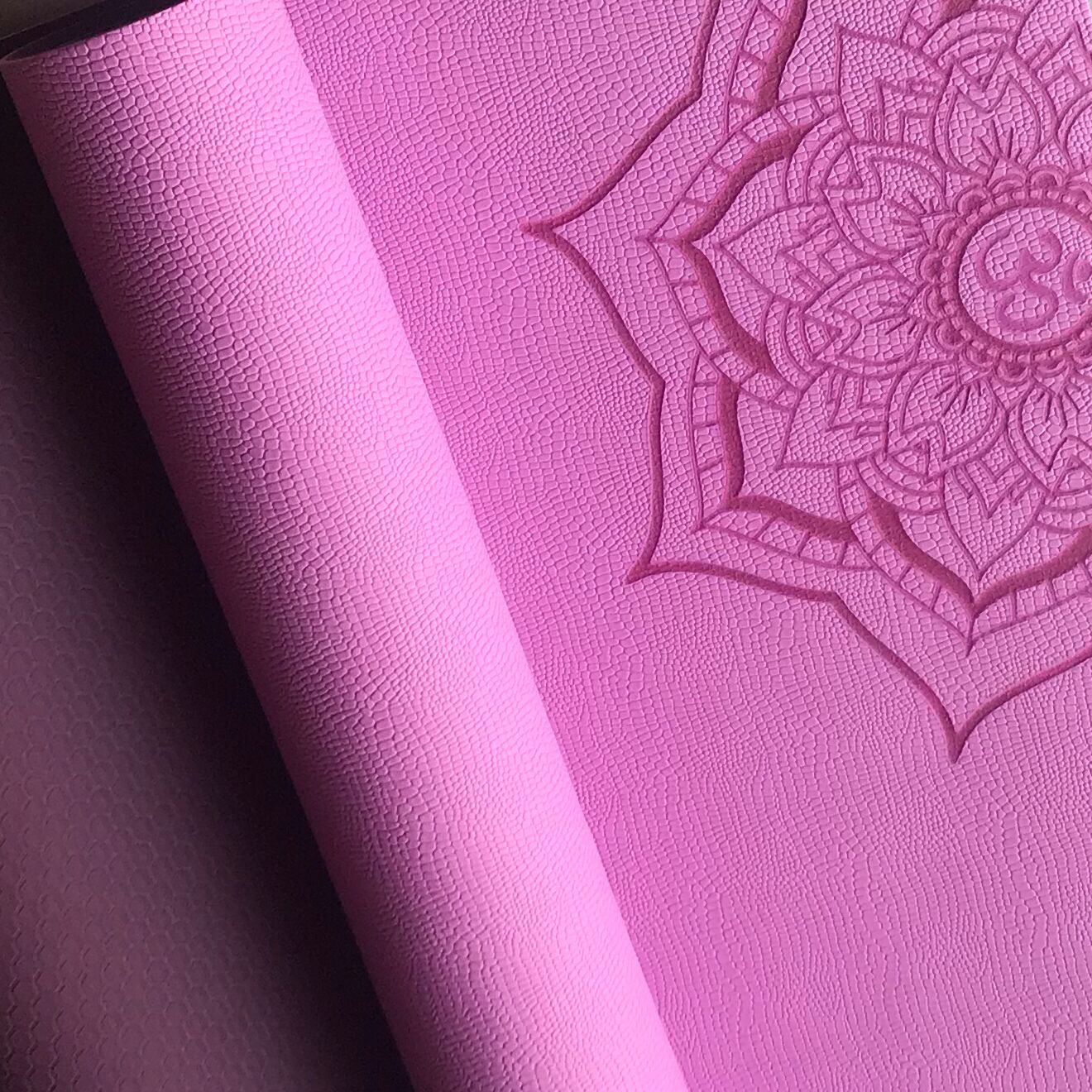 奕瑜TPE初学者瑜伽垫子防滑6/8/10mm加厚单人抓地力强运动三件套