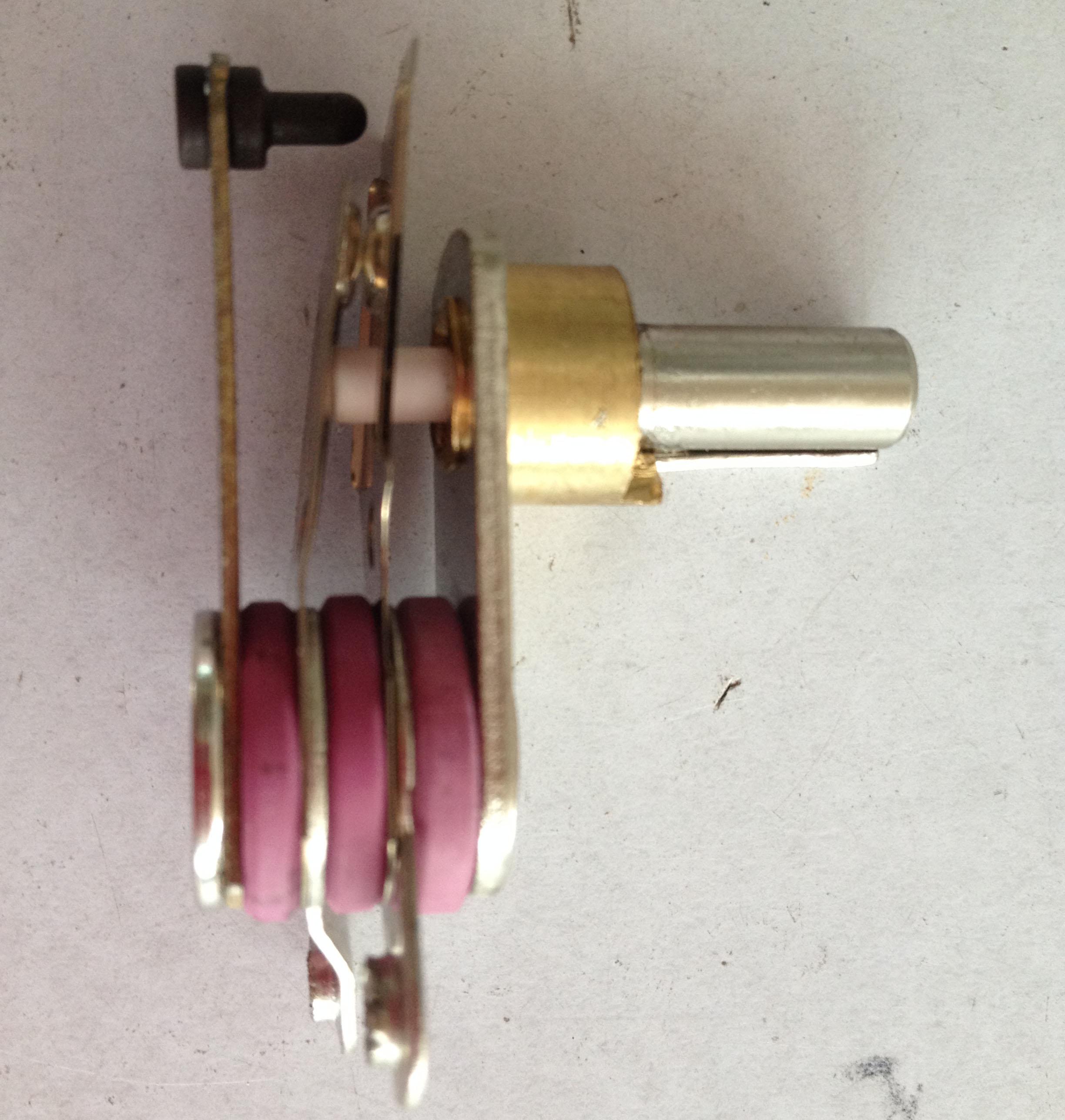 银星原装蒸汽电熨斗配件 调温器 温控器 旋钮温度调节图片