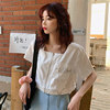 Small fragrant wind skirt 2020 summer new retro French niche Puff temperament dress fairy goddess Fan