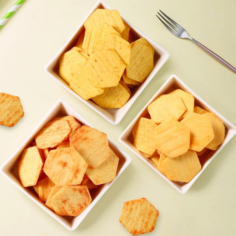 董小姐新品玉米薯片超大礼包零食小吃整箱装休闲食品【网红推荐】