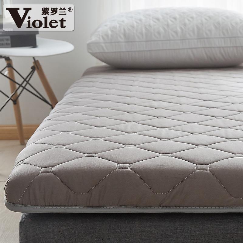 紫罗兰 全棉贡缎软垫 加厚床垫